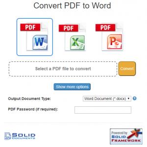 SimplyPDF Free online conversion
